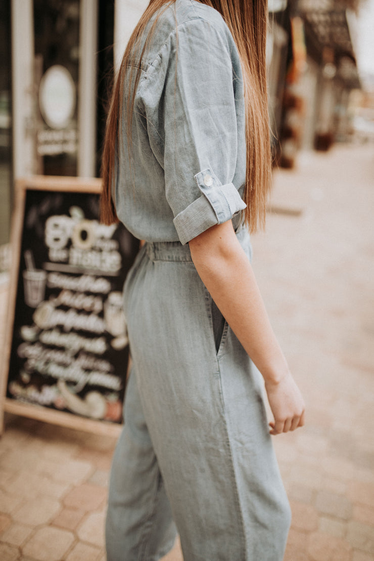 Beverly Denim Jumpsuit