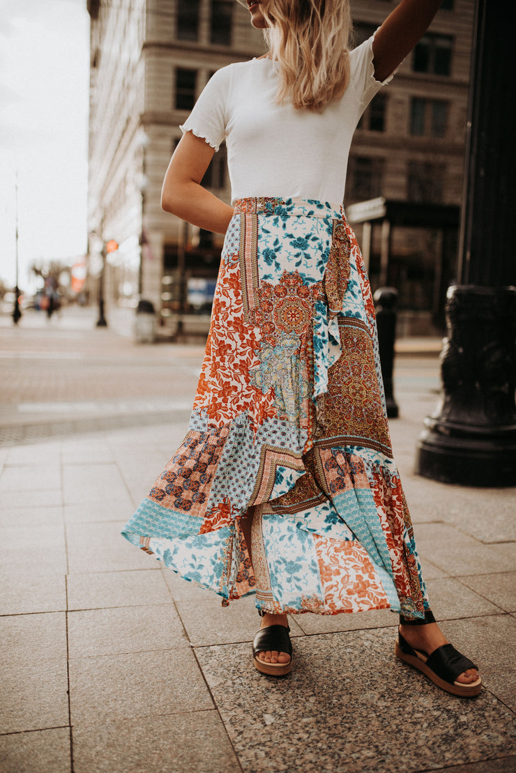 Pixie Patchwork Skirt