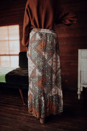 Sonja Patchwork Skirt