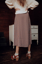 Cassius Wrap Skirt