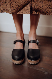 MIA Abba Clogs in Black
