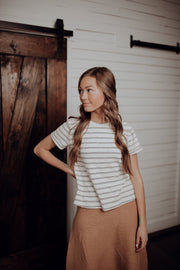 Cale Striped Tee