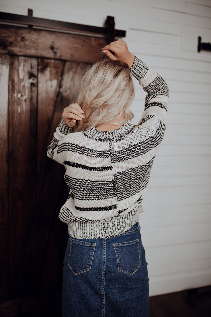 Chelsea Striped Sweater