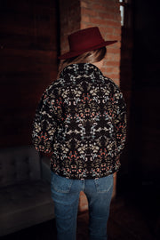 Florally Yours Floral Corduroy Jacket