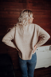 Astrid Oatmeal Sweater