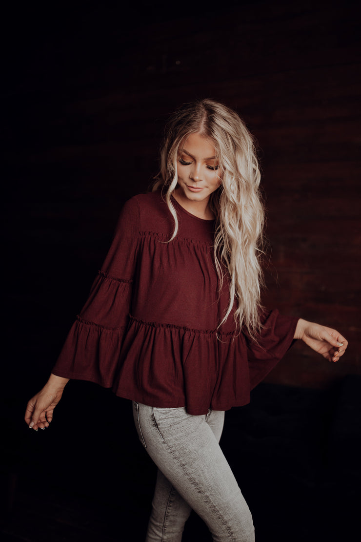 All Tiered Up Ruffle Top