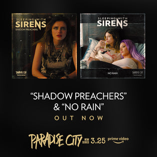 SLEEPING WITH SIRENS 'SHADOW PREACHERS' & 'NO RAIN' OUT NOW