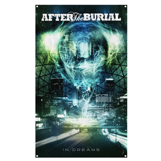 After The Burial - In Dreams Wall Flag