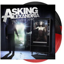 Asking Alexandria - 'From Death To Destiny' Trans Red/Opaque Black Half/Half Vinyl