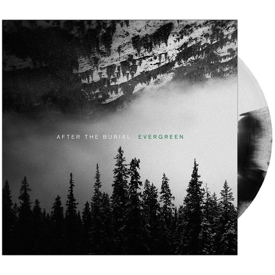 After The Burial - 'Evergreen' Black & White Vinyl