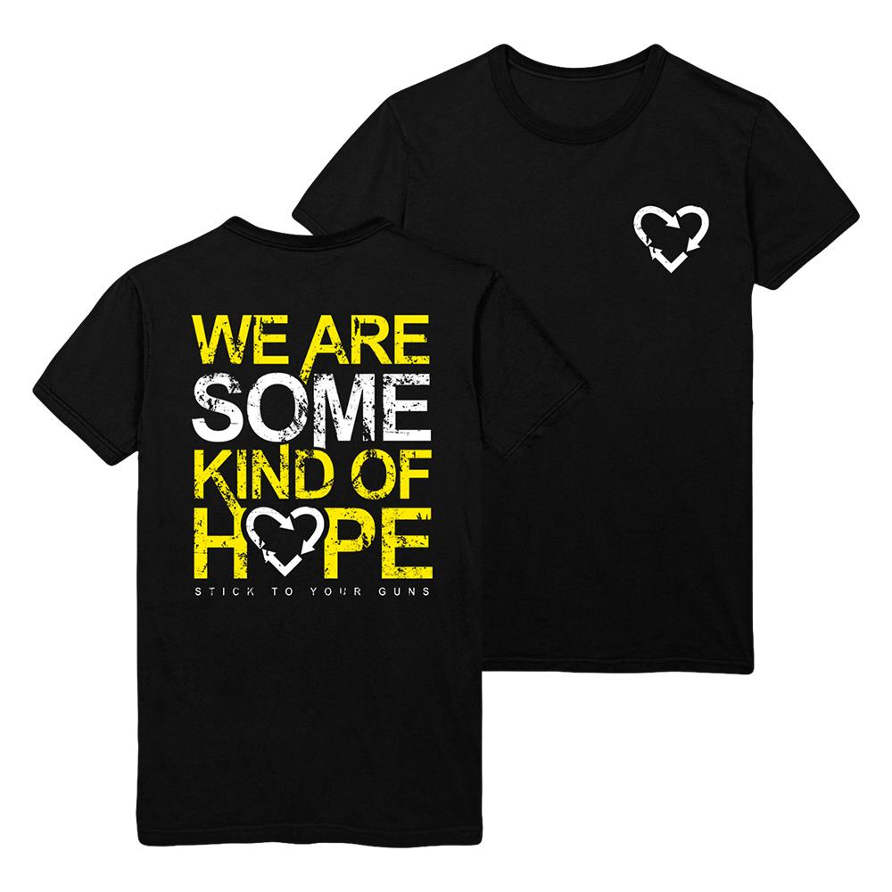 Stick To Your Guns - We Are Some Kind Of Hope T-Shirt (Black)