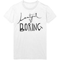 BONES UK - Beautiful Is Boring White Tee
