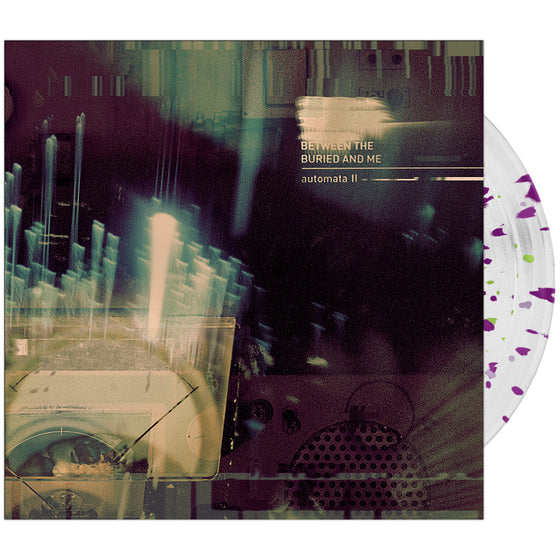 Between The Buried And Me - 'Automata II' Clear w/Magenta & Green Splatter Vinyl
