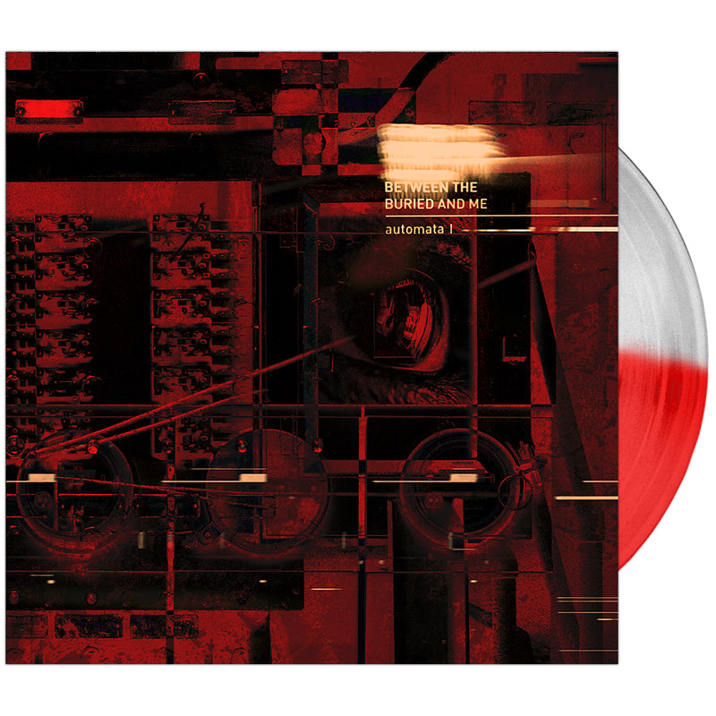 Between The Buried And Me - 'Automata I' Half & Half Opaque Red & Trans Clear Vinyl