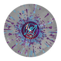 "Lee McKinney - 'Infinite Mind' 12"" Ultra Clear w/ Purple & Baby Blue Splatter"