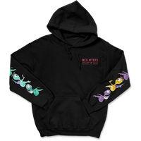 Meg Myers - Illustrations Hoodie (Black)