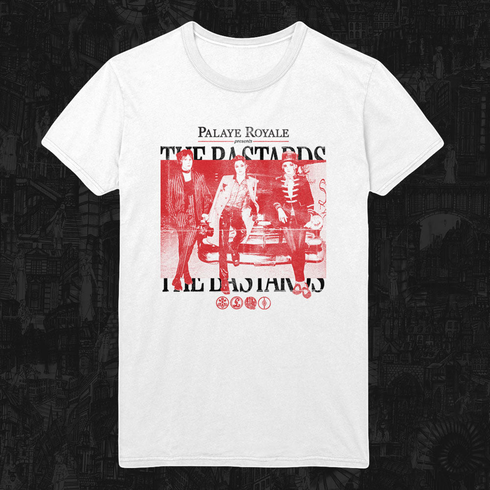 Palaye Royale - 'The Bastards' T-Shirt (White)
