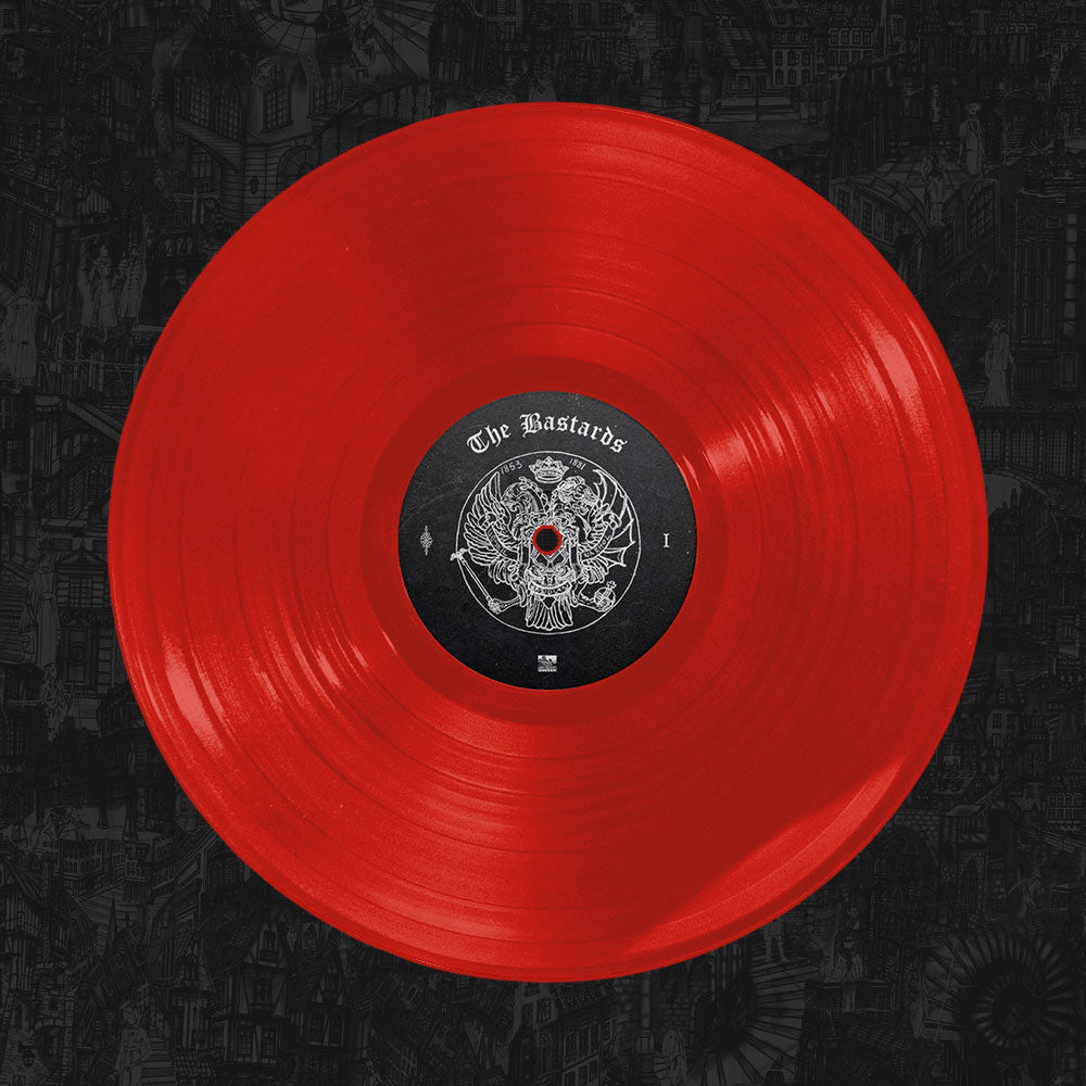 Palaye Royale - 'The Bastards' Vinyl Opaque Red
