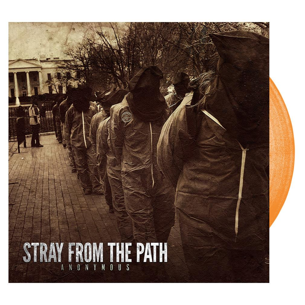 Stray From The Path - 'Anonymous' Orange Cream Vinyl