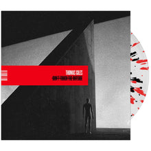 Thomas Giles - 'Don't Touch The Outside' Clear w/Red & Black Splatter Vinyl