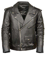 Men's leather Jacket (Black, XXX-Large)-Freaking Awesome T-Shirts