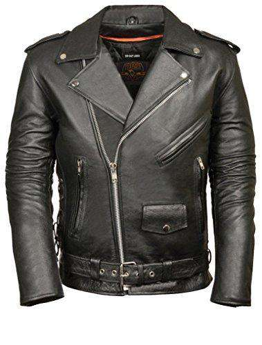 Men's Leather Leather Jacket-Freaking Awesome T-Shirts