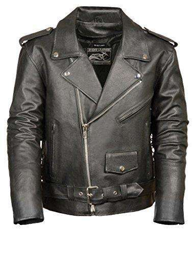 Men's Motorcycle Jacket (Black, XX-Large)-Freaking Awesome T-Shirts