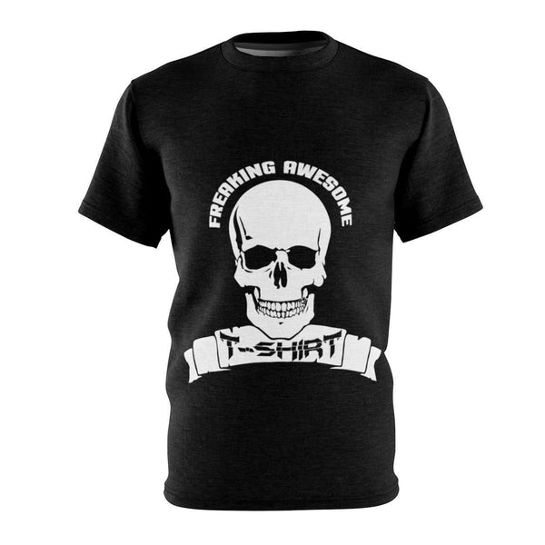 Skull Microfiber T-Shirt-Freaking Awesome T-Shirts