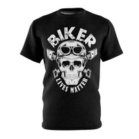 Skull Microfiber Tee-Freaking Awesome T-Shirts