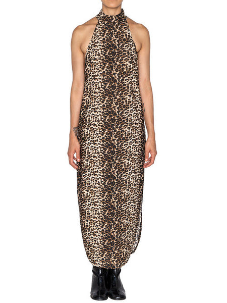 NIGHTWALKER - LEOPARD BREAKING POINT MAXI DRESS -  WOMENS | DRESSES - The Well