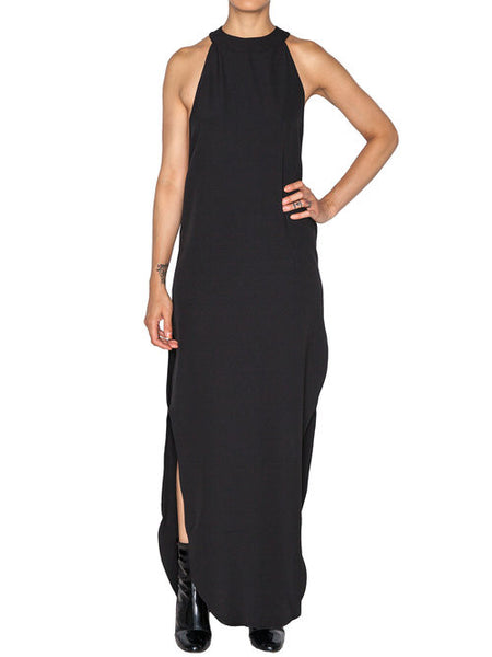 NIGHTWALKER - BLACK BREAKING POINT MAXI -  WOMENS | DRESSES - The Well