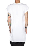 THE WELL - NOT SO SLEEVED - WHITE -  MENS | TOPS - The Well