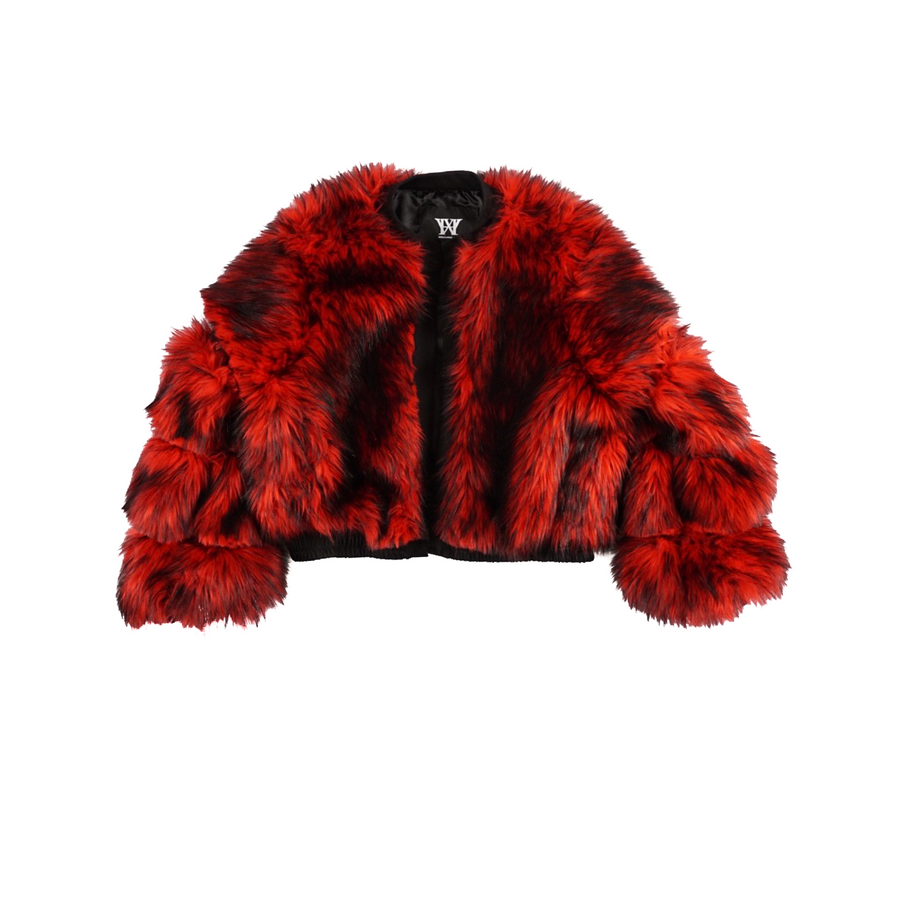 RUDE BOY FUR BOMBER