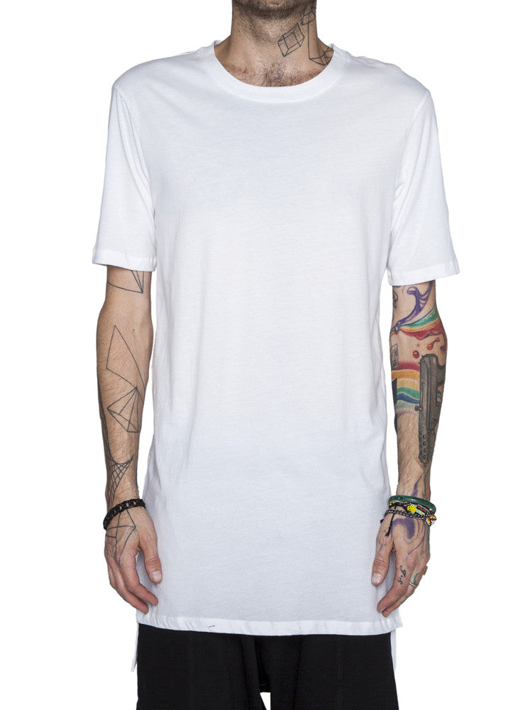 THE WELL - NOT SO BASIC TEE - WHITE -  MENS | TOPS - The Well