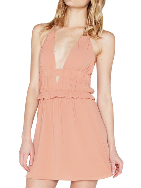 TAVIK - ROSE DRESS - BLUSH -  WOMENS | DRESSES - The Well