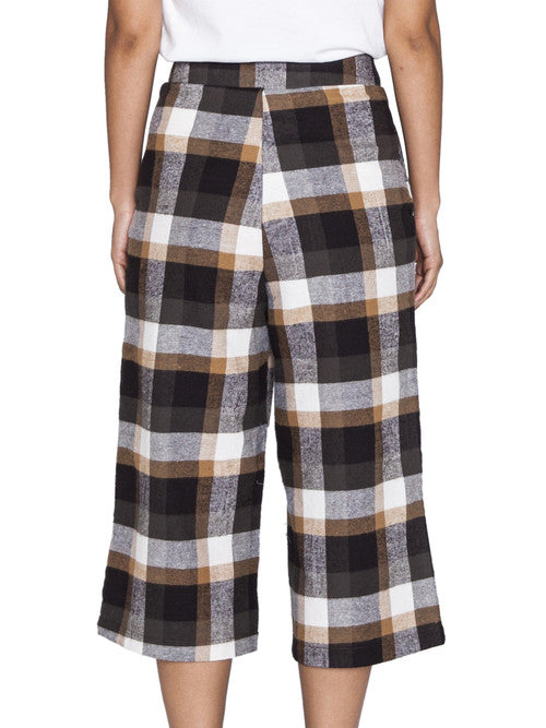 THE WELL - CLASSIC CULOTTE - PLAID -  WOMENS | BOTTOMS - The Well