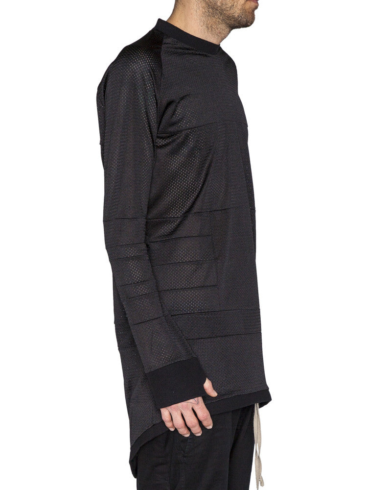THE WELL - MOTO JERSEY - BLACK MESH -  MENS | TOPS - The Well