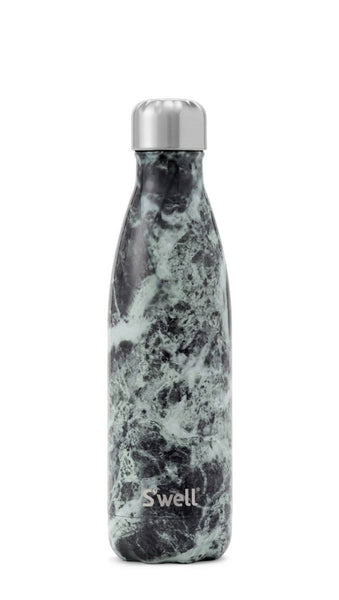 S'WELL - 17 OZ BOTTLE - ELEMENTS - BALTIC GREEN MARBLE -  HOME GOODS - The Well