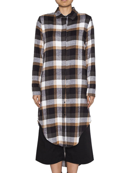THE WELL - WOMENS BUTTON UP - PLAID -  WOMENS | TOPS - The Well