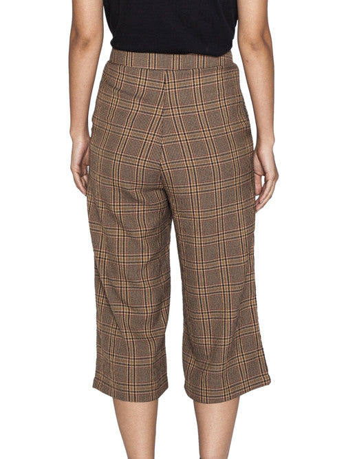 THE WELL - CLASSIC CULOTTE - HOUNDSTOOTH -  WOMENS | BOTTOMS - The Well
