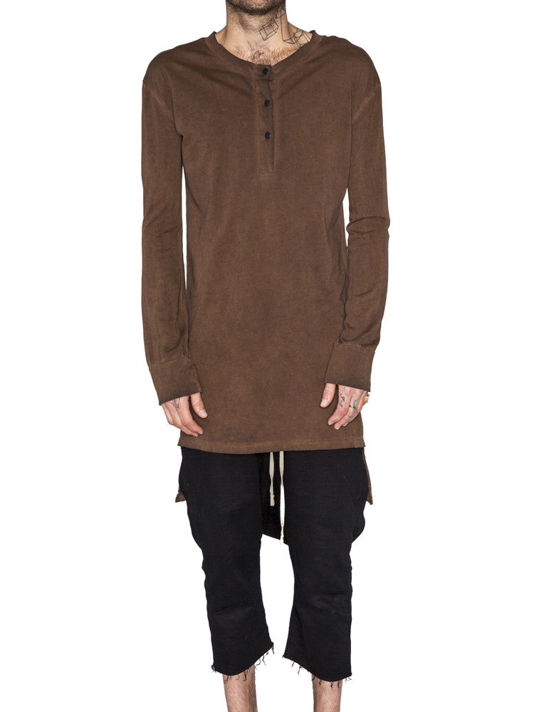 THE WELL - HENLEY - BROWN OIL -  MENS | TOPS - The Well
