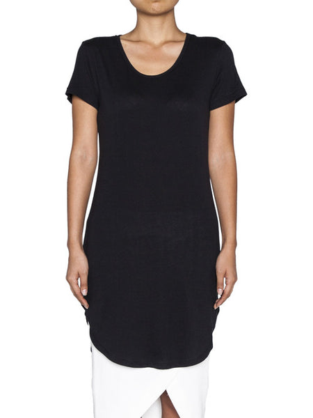 THE WELL - WOMENS NOT SO BASIC TEE - BLACK -  WOMENS | TOPS - The Well