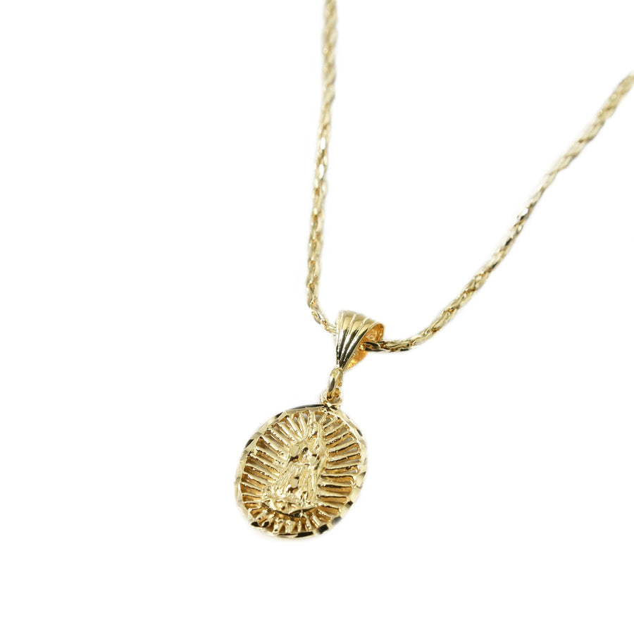 THE LADY GOLD CHARM NECKLACE