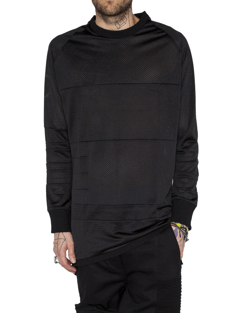 THE WELL - MOTO JERSEY - BLACK -  MENS | TOPS - The Well