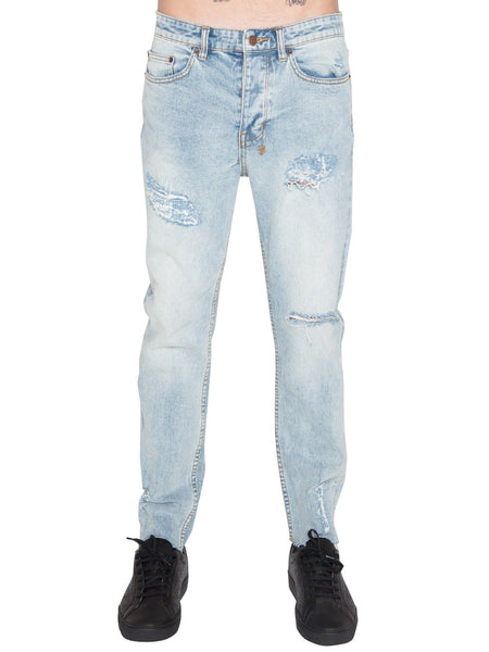 KSUBI - CHITCH CHOP CROPPED PANT - SLICE N DICE -  MENS | BOTTOMS - The Well