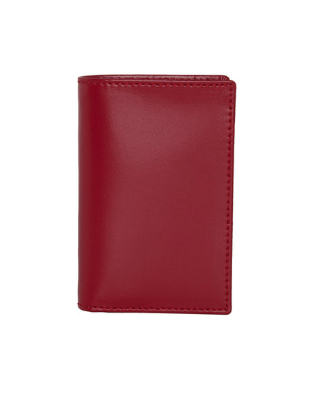 COMME DES GARCONS - CLASSIC LINE - RED CREDIT CARD HOLDER -  BAGS & WALLETS - The Well