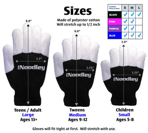 Personalized Flashing LED Light Finger Gloves - Kids Size - Extra Batteries - Toys For Boys and Girls Kids Gifts