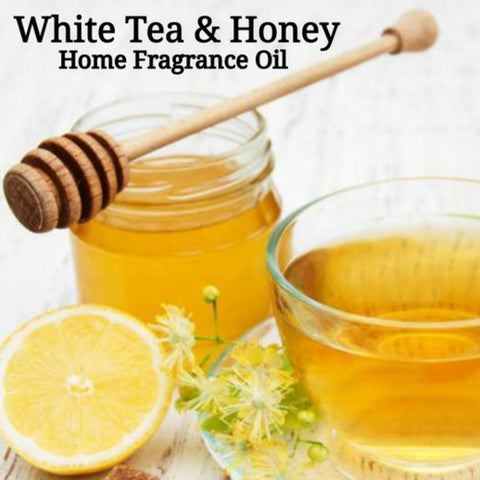 White Tea Honey Home Fragrance Diffuser Warmer Aromatherapy Burning Oil