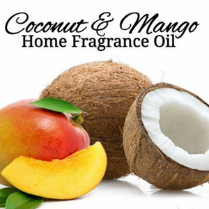 Coconut Mango Home Fragrance Diffuser Warmer Aromatherapy Burning Oil