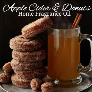 Apple Cider Donuts Home Fragrance Diffuser Warmer Aromatherapy Burning Oil